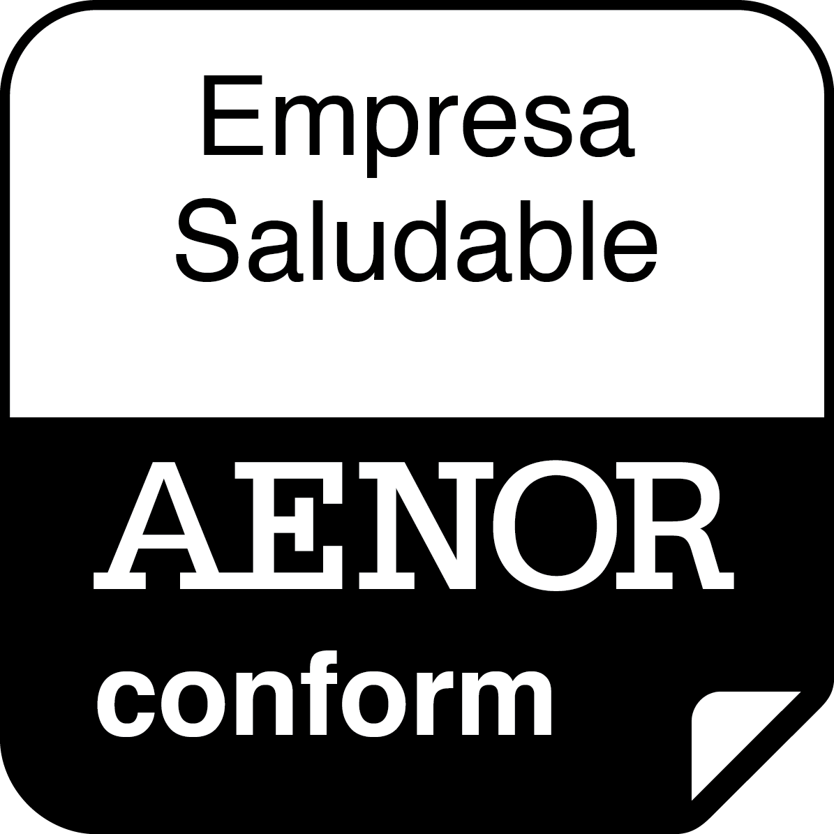 Empresa Saludable AENOR conform